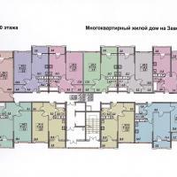 планировка, этаж 10