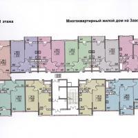 планировка, этаж 11