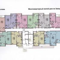 планировка, этаж 1
