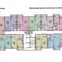 планировка, этаж 4