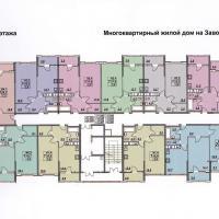 планировка, этаж 5