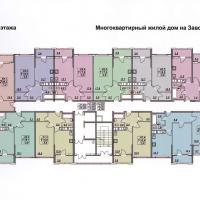 планировка, этаж 7