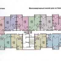 планировка, этаж 8