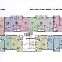 планировка, этаж 9