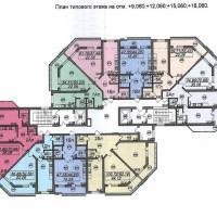 Типовая планировка этажей, тип 1