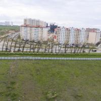ЖК Южный квартал. Расчётный вид с высоты 15 этажа (43-44 метра)