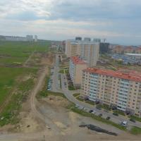 ЖК Южный квартал. Расчётный вид с высоты 18 этажа (53-54 метра)
