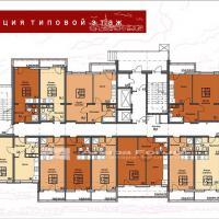 ЖК Триумф в Анапе Секция 1 план этажа