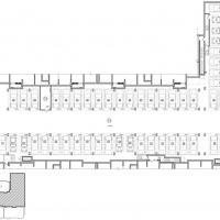 ЖК Солнечный город - планировка подземного гаража