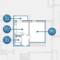 жк Апартамент в Анапе планировка 4