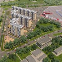 ЖК Красная площадь в Анапе - вид сверху 1
