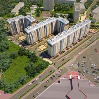 ЖК Красная площадь в Анапе - вид сверху 2