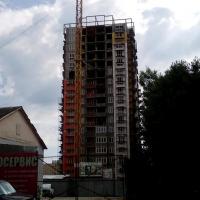 ЖК Оранж ход строительства 10.07.2016 вид со Стахановской