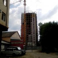 ЖК Оранж ход строительства 10.07.2016 со Стахановской