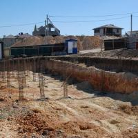 ЖК Семейный Анапа - ход строительства, фундамент август 2016