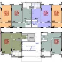 ЖК Семейный - 2 этаж