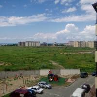 Вид из окна в жилом комплексе Спектр в Анапе