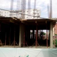 ЖК Владимирская 150 фото от 10.07.2016, 3 секция залит первый этаж
