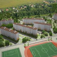 ЖК Горгиппия и спортивные сооружения