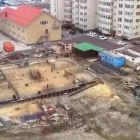 Краснодарская 66 - заливка фундамента 5 секции, фото 2