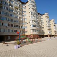 двор и детская площадка ЖК Крымский вал