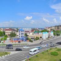Вид из окна на ул. Крестьянскую