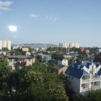 Вид из окна на Восточный рынок, другой ракурс