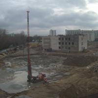 строительная площадка декабрь 2015