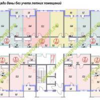 ЖК Европейский, планировка, этаж 15