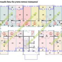 ЖК Европейский, планировка, этаж 2