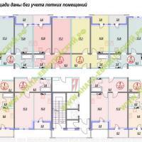 ЖК Европейский, планировка, этаж 4
