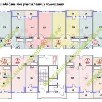 ЖК Европейский, планировка, этаж 6