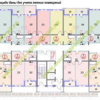 ЖК Европейский, планировка, этаж 7
