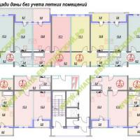 ЖК Европейский, планировка, этаж 8