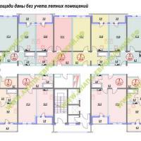 ЖК Европейский, планировка, этаж 9