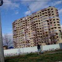 ЖК Лазурный, 15 декабря 2015 вид с ул. Крестьянская