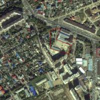 вид на яндекс-картах, территрия жк Тургеневский квартал