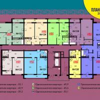 жк Уютный, Блок 3 подъезд 3 этаж 15