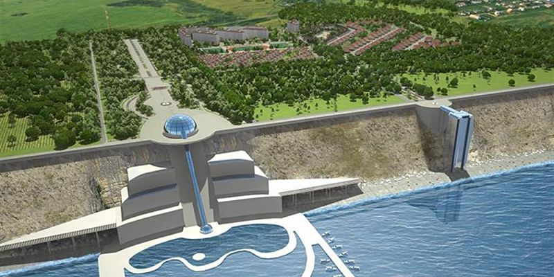 Спуск к морю у ЖК Горгиппия морская в Анапе